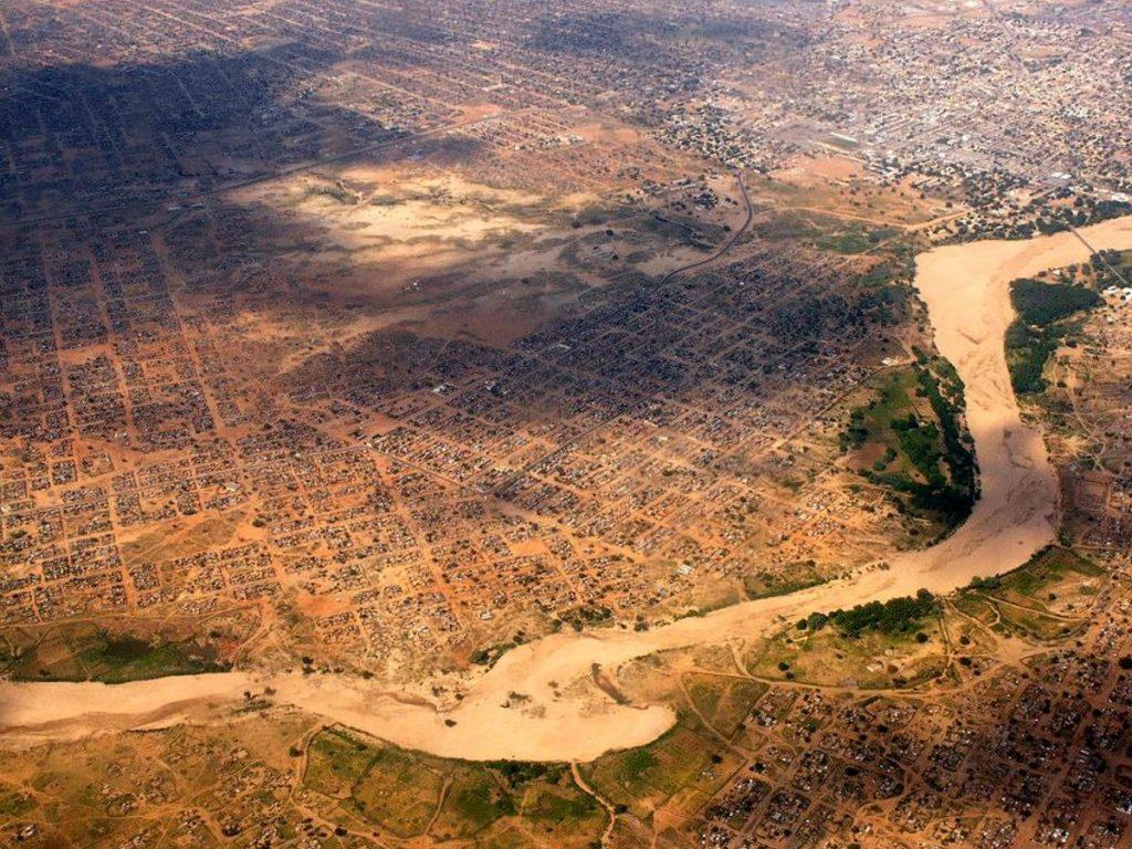 Nyala aerial view